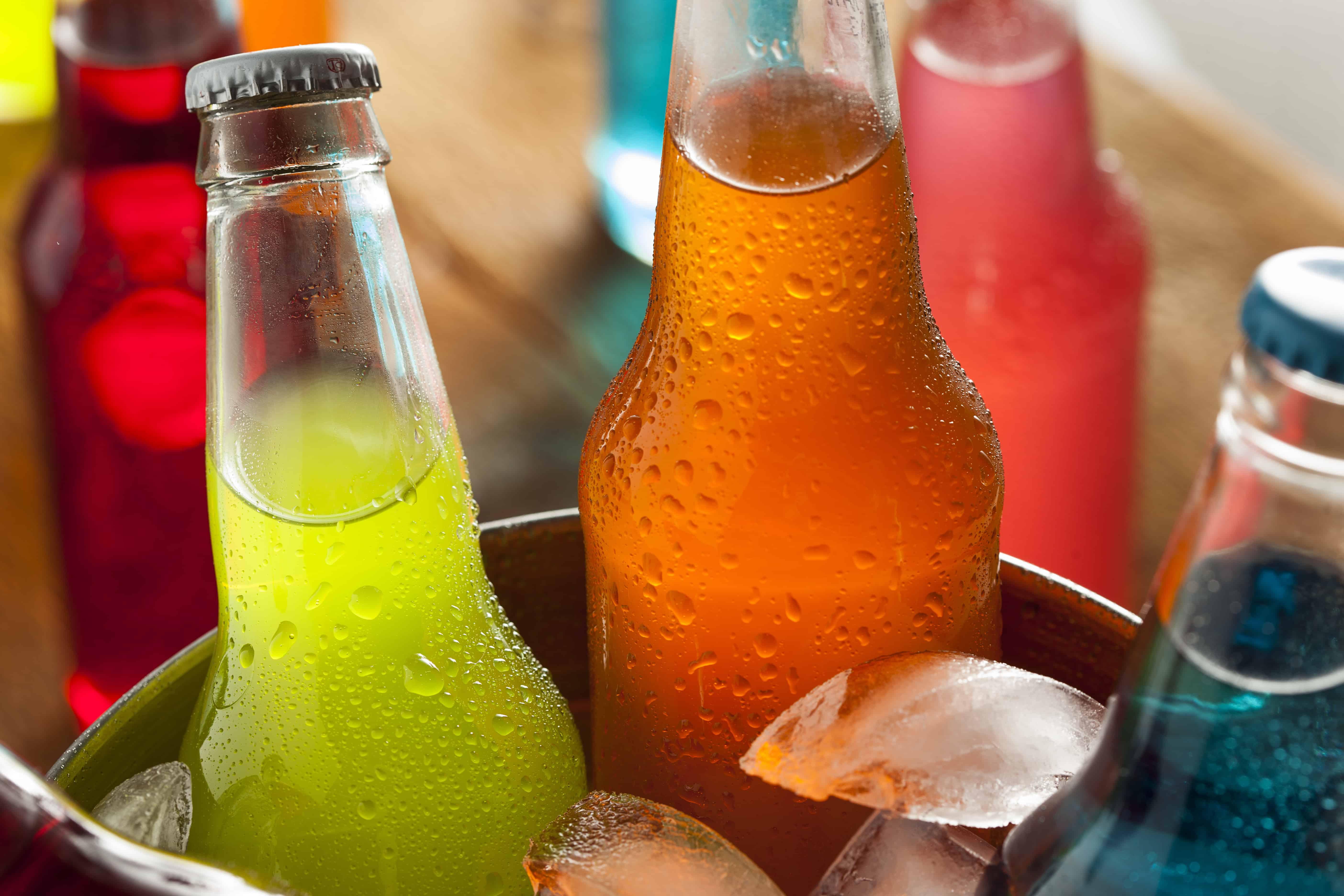 Assorted Organic Craft Sodas with Cane Sugar